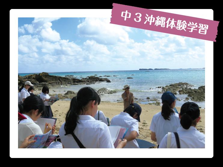 中3沖縄体験学習